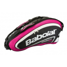 Babolat Racketbag Team Badminton 2015 rose/schwarz 8er