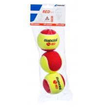 Babolat Stage 3 Red Felt Methodikb�lle 3er