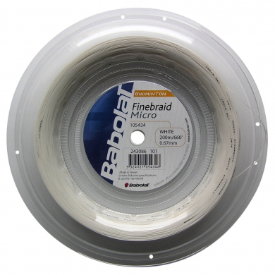 Babolat Finebraid Micro 200 Meter Rolle