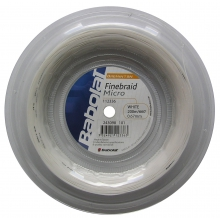 Babolat Finebraid 2 Micro weiss 200 Meter Rolle