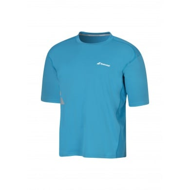 Babolat Tshirt Match Core FLAG 2016 blau Boys