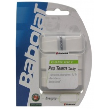 Babolat Pro Team Tacky Overgrip 3er weiss
