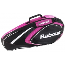 Babolat Racketbag Club 2015 rose/schwarz 3er