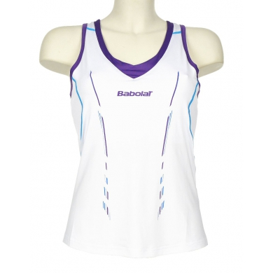 Babolat Tank Match Performance 2014 weiss Girls