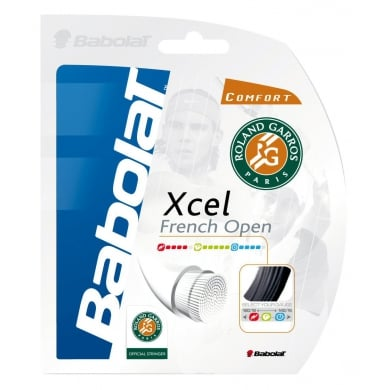 Babolat XCel French Open 1.35 schwarz Tennissaite
