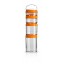 BlenderBottle Behälter GoStak Starter orange 4er