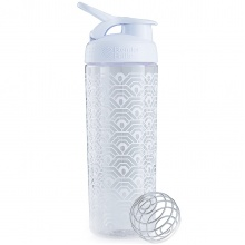 BlenderBottle Trinkflasche SportMixer Signature Sleek 820ml weiss