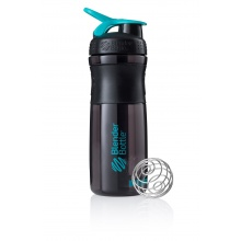 BlenderBottle Trinkflasche Sportmixer Black Fashion 820ml schwarz/blau