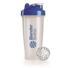 BlenderBottle Trinkflasche Classic 820ml transparent/blau