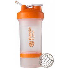 BlenderBottle Trinkflasche ProStak 650ml transparent/orange