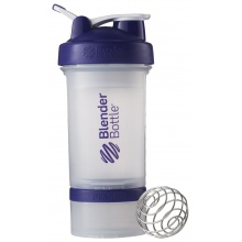 BlenderBottle Trinkflasche ProStak 650ml transparent/purple