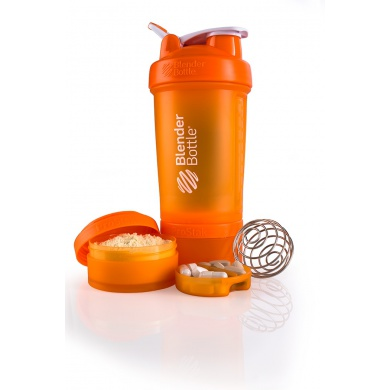 BlenderBottle Trinkflasche ProStak 650ml orange