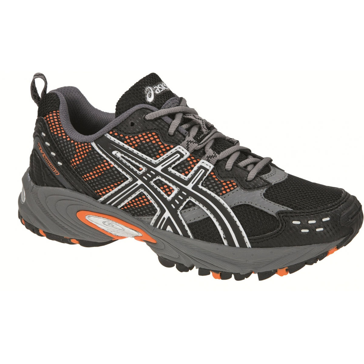 asics gel enduro 7 schwarz laufschuhe kinder gr e 35. Black Bedroom Furniture Sets. Home Design Ideas