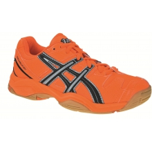 Asics Gel Blast 4 orange Indoorschuhe Kinder (Größe 33,5)