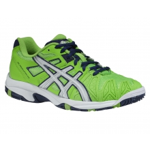 Asics Gel Resolution 5 gr�n Tennisschuhe Kinder
