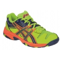 Asics Gel Blast 5 lime Indoorschuhe Kinder