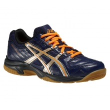 Asics Gel Squad 2014 navy Indoorschuhe Kinder