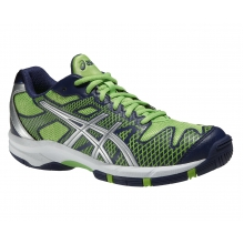 Asics Gel Solution Speed 2 grün/navy Tennisschuhe Kinder (Größe 37,5+38)