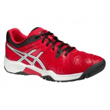 Asics Gel Resolution 6 2015 rot Tennisschuhe Kinder