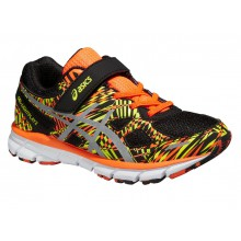 Asics Gel Lightplay 2 KLETT schwarz/orange Laufschuhe Kinder