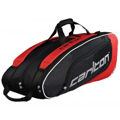 Carlton Racketbag Pro Player 2014 schwarz/rot 3er