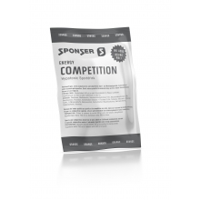 Sponser Energy Competition Orange Beutel