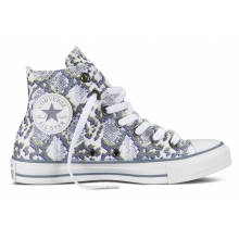Converse Chuck Taylor AS Print high grau Sneaker Damen