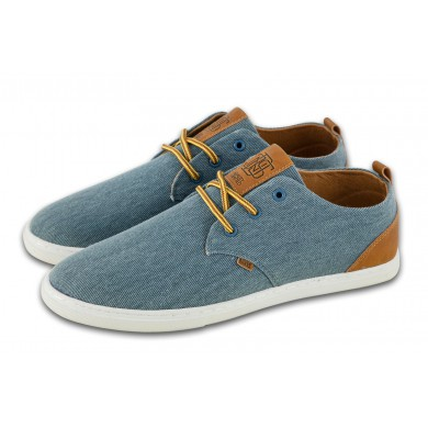 Djinns Low Lau Washed Canvas 2015 slate Sneaker Herren