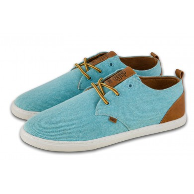 Djinns Low Lau Washed Canvas 2015 türkis Sneaker Herren