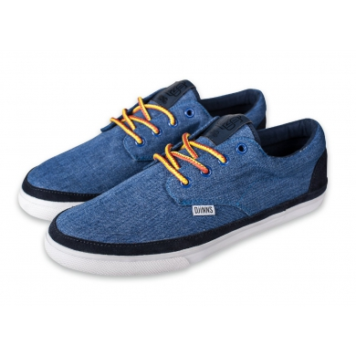 Djinns Nice Color Denim navy Sneaker Herren