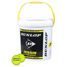 Dunlop Training gelb Trainingsb�lle 60er inkl. Eimer