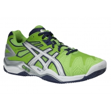 Asics Gel Resolution 5 Clay neongr�n Tennisschuhe Herren