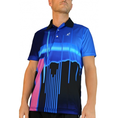 Australian Polo Stripes 2013 blau Herren