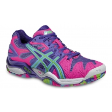 Asics Gel Resolution 5 purple Tennisschuhe Damen