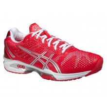 Asics Gel Solution Speed 2 2015 hibiscus Tennisschuhe Damen (Gr��e 37,5)