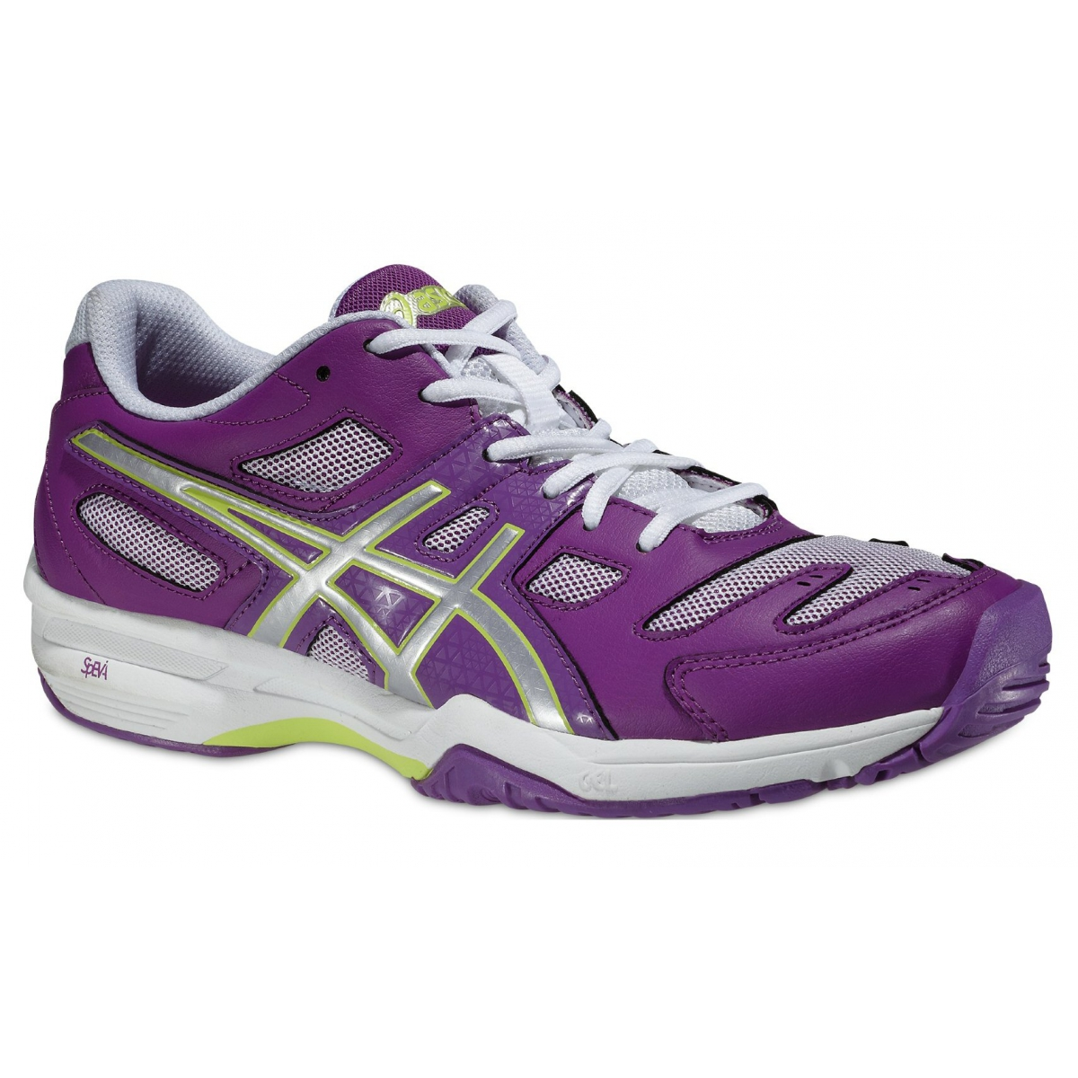 asics gel solution slam 2 grape tennisschuhe damen versandkostenfrei online bestellen. Black Bedroom Furniture Sets. Home Design Ideas