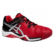 Asics Gel Resolution 6 (WIDE) 2015 rot Tennisschuhe Herren
