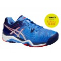 Asics Gel Resolution 6 2015 powderblue Tennisschuhe Damen