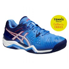 Asics Gel Resolution 6 Clay 2015 powderblue Tennisschuhe Damen