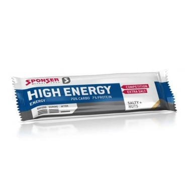 Sponser Energy High Energy Riegel Salty Nut