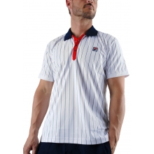 Fila Polo Stripes weiss weiss/navy/rot Herren