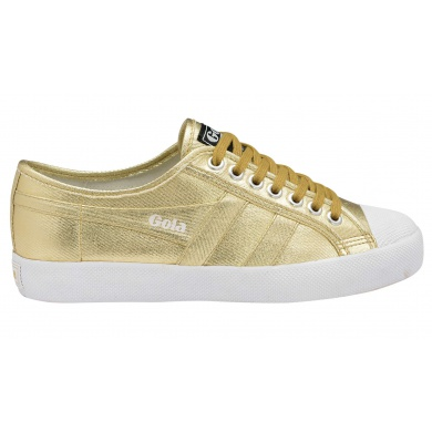 Gola Coaster Canvas metallic gold Sneaker Damen