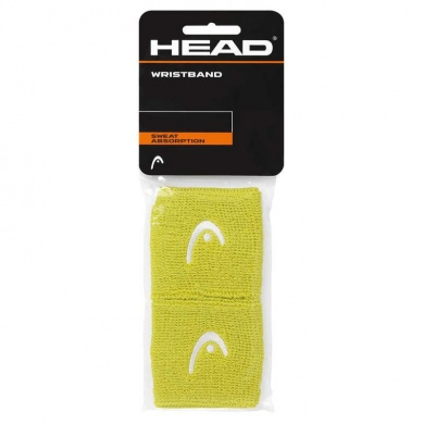 Head Schweissband Logo lime 2016 2er