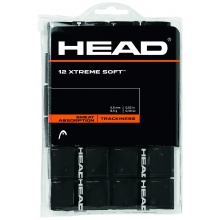 Head Xtreme Soft Overgrip 12er schwarz