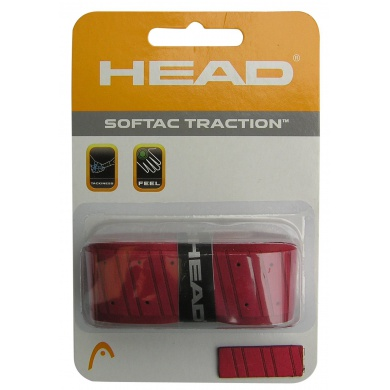 Head Softac Traction Basisband rot