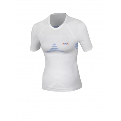 X-Bionic Energizer Shirt Short Sleeves weiss Damen (Gr��e XS)