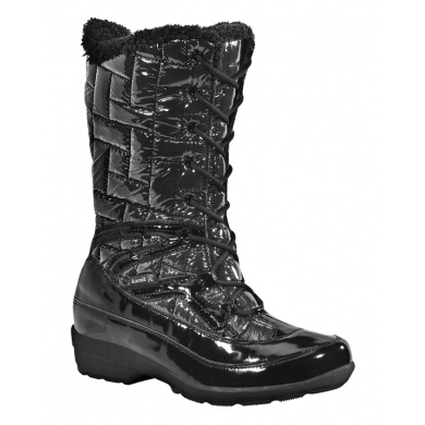 Kamik London schwarz Winterschuhe Damen