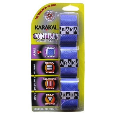 Karakal Point Air 75 Overgrip 3er blau