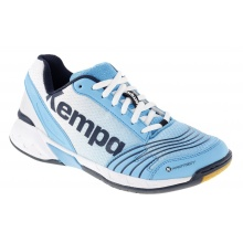 Kempa Attack Three 2016 blau Handballschuhe Damen
