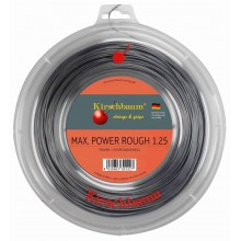 Kirschbaum Max Power Rough silber 200 Meter Rolle